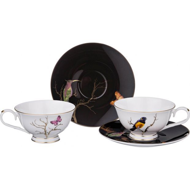 Чайный набор на 2 персоны 4 пр.-264-843