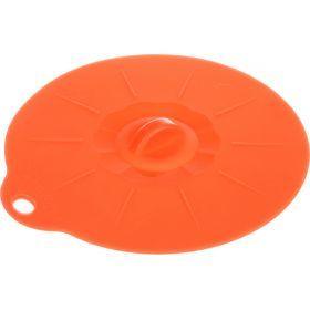 Силиконовая крышка диаметр=14см. (мал=24шт./кор=192шт.)-710-161