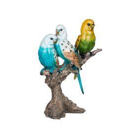Фигурка попугаи 19,5*12,5*28,5см