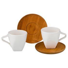 Кофейный набор на 2 персоны 4пр. 90 мл (кор=24шт.)-587-112