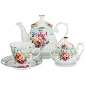Чайный сервиз на 6 персон 14пр. 700/220/280мл (кор=4наб.)-165-472