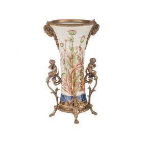 Декоративная ваза диаметр=20 см. высота=41 см.-469-261