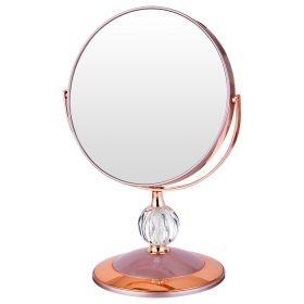 Зеркало настольное диаметр=18 см.высота=28 см.увеличение в 5 раз-416-088