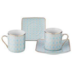 Кофейный набор на 2 персоны 4 пр. 70мл. (кор=36набор.)-85-1550