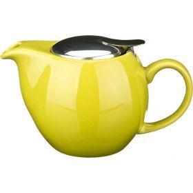 Заварочный чайник с металлической крышкой 500 мл.-470-010
