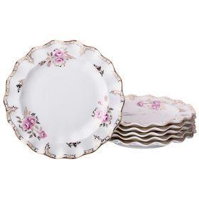 Набор из 6-ти тарелок десертных