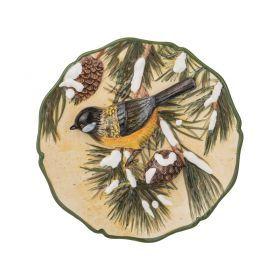 Тарелка декоративная птица диаметр=20 см. высота=4 см.