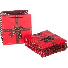 Комплект бумажных пакетов из 10 шт.21*22*16 см-521-080