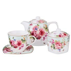 Чайный набор на 6 персон 14пр. 700/220/280 мл-165-418