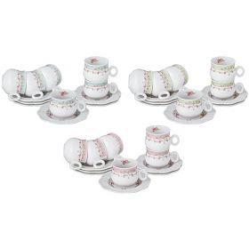 Кофейный набор на 6 персон 12пр. 100мл. 3 вида в ассортименте-359-441