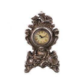 Часы настольные 25*14*8 см. диаметр циферблата=6 см.-251-234