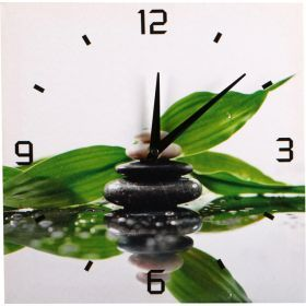 Часы декоративные 27,5*28*1,8 см. (кор=24шт.)-740-131