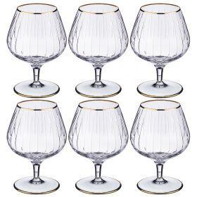 Набор бокалов для коньяка из 6 шт. 350 мл. высота=14 см.-103-556