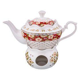 Чайник заварочный на подставке 700 мл.-165-381