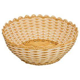 Корзинка цветное плетение 23*9 см (кор=120 шт.)-109-263