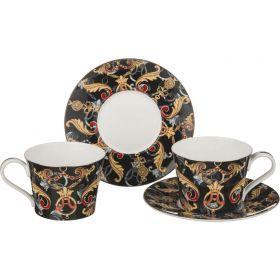 Чайный набор на 2 персоны 4 пр. 240 мл.-264-725