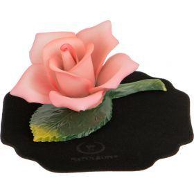 Сувенир роза 10*7 см.высота=5 см.