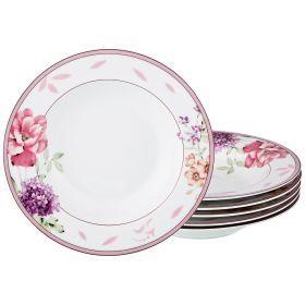 Набор тарелок суповых из 6 шт. диаметр=23 см. (кор=6набор.)-770-160
