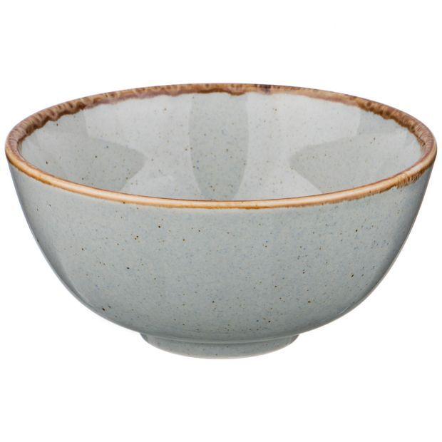 Миска seasons 13 см цвет серый (кор=8шт.)-664-121