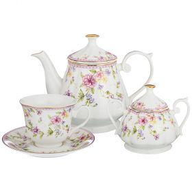 Чайный сервиз на 6 персон 14пр. 700/220/280мл (кор=4наб.)-165-462