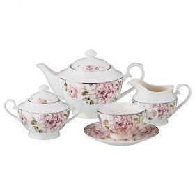 Чайный сервиз на 6 персон 15 пр.1000/230/300/200 мл.-115-280