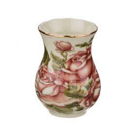 Подставка под зубочистки корейская роза диаметр=3 см.высота=5 см.
