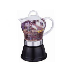 Кофеварка гейзерная 10*10 см. высота=18 см.-270-271