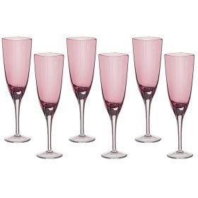 Набор бокалов для шампанкого из 6 шт. 200 мл. высота=23 см.