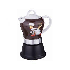 Кофеварка гейзерная 10*10 см. высота=18 см.-270-268