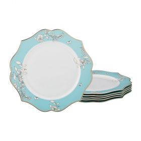 Набор из 6-ти десертных тарелок диаметр=20 см (кор=10набор.)-115-320