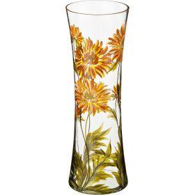 Ваза хризантема желтая талия диаметр=13 см. высота=40 см.
