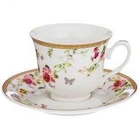 Чайный набор на 1 персону 2пр. 220мл (кор=36наб.)-165-473