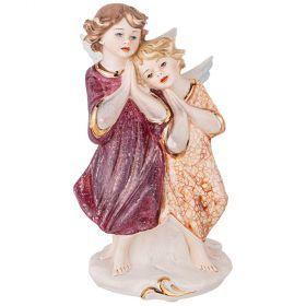 Статуэтка пара ангелов высота=19 см.10*9 см.