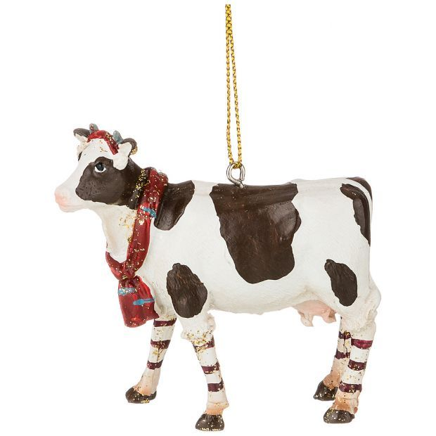 """Изделие декоративное """"корова"""" 7,5*2,5*7 см. (кор=192шт.)-162-842"""
