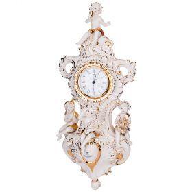 Часы настенные 52*22 см. циферблат диаметр=8 см.-282-150