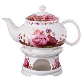Чайник заварочный на подставке 600 мл.-165-393