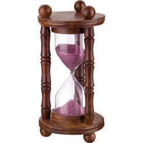 Часы песочные диаметр=10 см. высота=19 см.-877-421