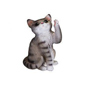 Фигурка для сада котенок 15*12,5*20,5 см
