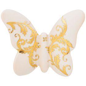 Бабочка декоративная 11*9 см-325-128