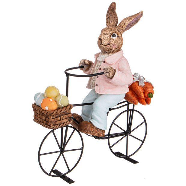 "Фигурка ""пасхальный кролик"" 23*9*27 см. (кор=12шт.)-787-216"