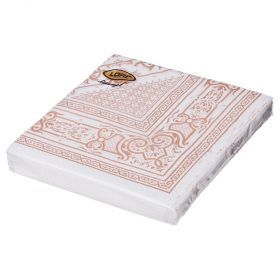 Салфетки бумажные 3-х слойные 33*33 см-423-215