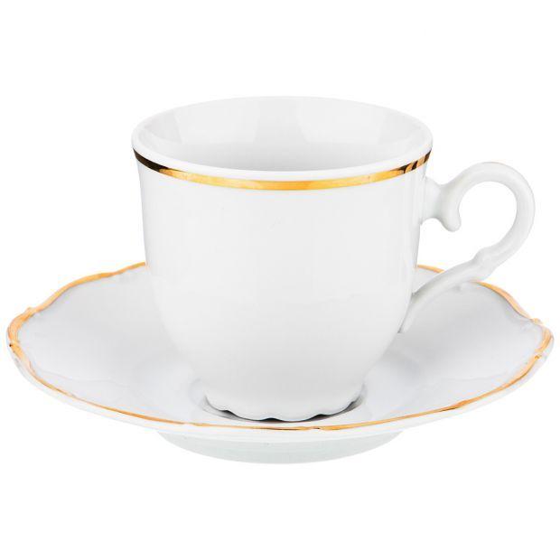 """Кофейный набор на 1 персону 2 пр.""""офелия 662"""" 140 мл.-655-649"""