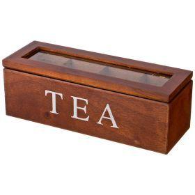 Шкатулка для чая 26.5*9*9 см-255-167