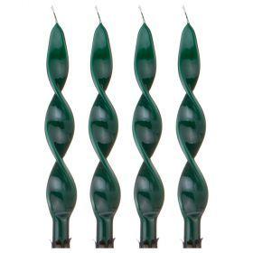 Набор свечей из 4 шт. 27/2,2 лакированный зеленый-348-624