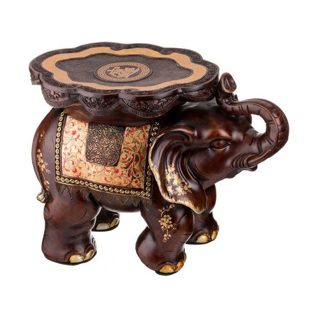 """Подставка-слон """"поддержка и процветание"""" 56*33*46 см.-114-334"""