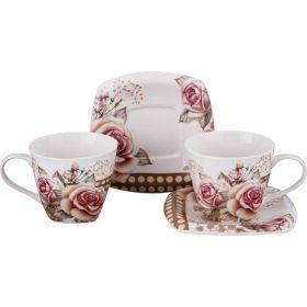 Чайный набор на 2 персоны 4пр. 220 мл.-165-395