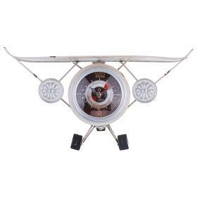 Часы настольные 7*18 см. диаметр цифеблата=9 см (кор=6шт.)-799-119
