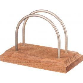 Салфетница деревянная 13*7*9 см.бук-430-140