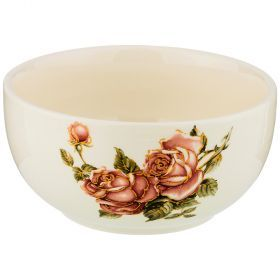 Салатник корейская роза.диаметр=14 см