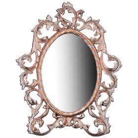 Зеркало настольное 40*31 см (кор=10шт.)-733-102